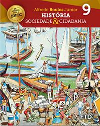 banner do ensino fundamental 2 da coleção História, Sociedade e Cidadania, 9º ano