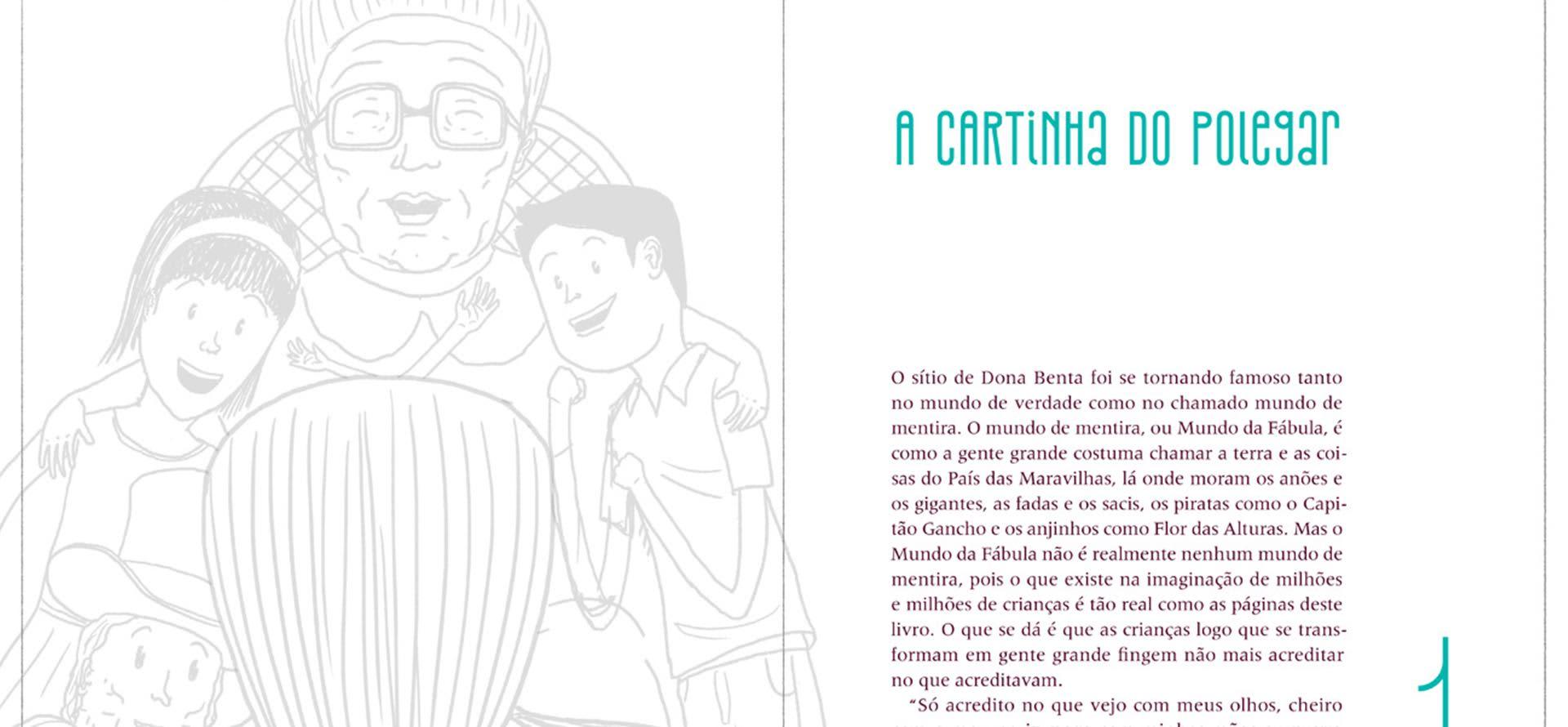 """Processo criativo/etapas de criação do ilustrador Zansky para """"O Picapau Amarelo"""" – coleção Maravilhas de Lobato"""