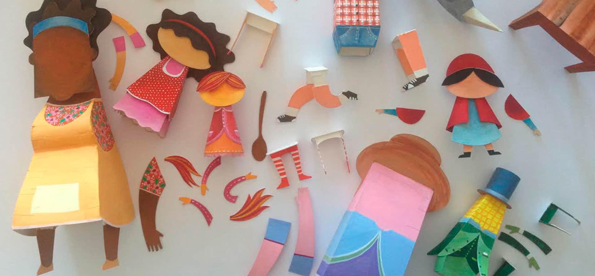 """Etapas/processo criativo do ilustrador Carlo Giovani para """"O Museu da Emília"""" – coleção Lobato em Cena"""