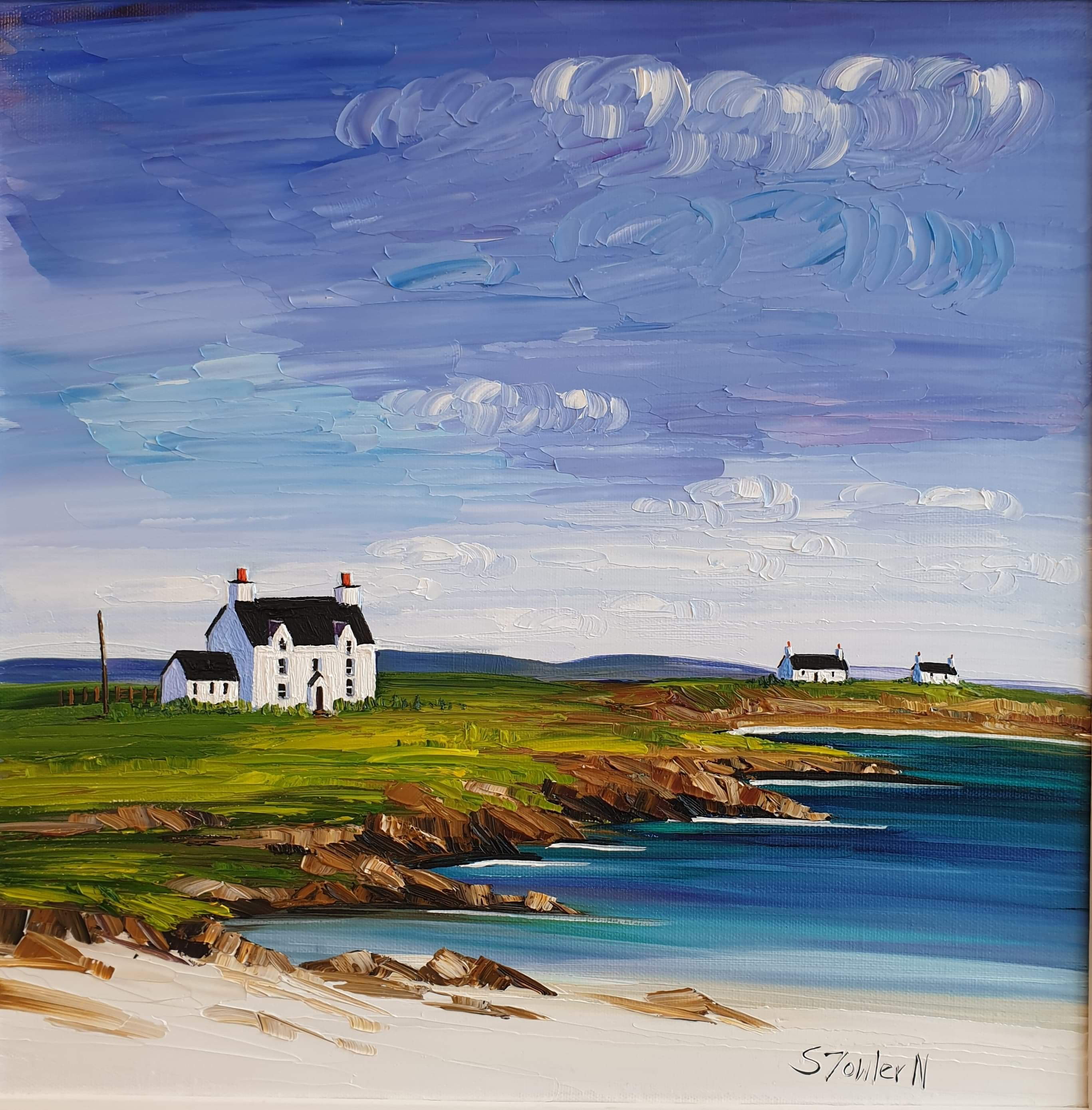 Farmhouse and Cottages, Tiree