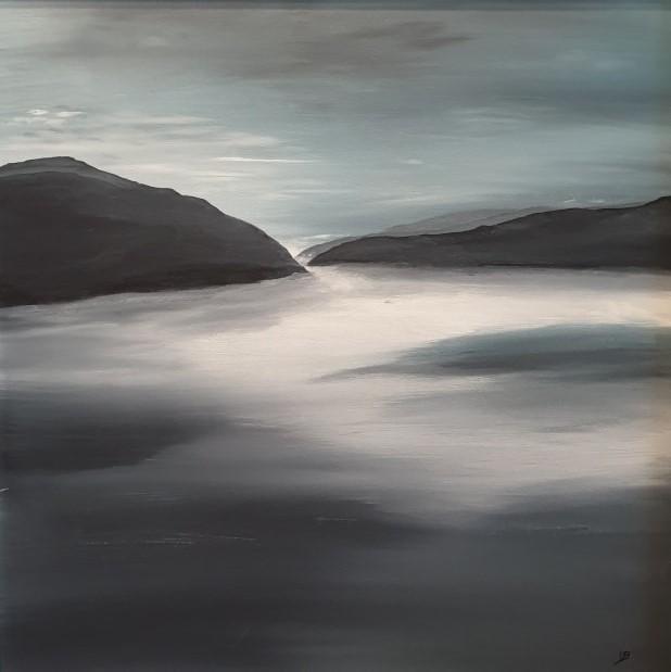 Blue Mist Loch Morar
