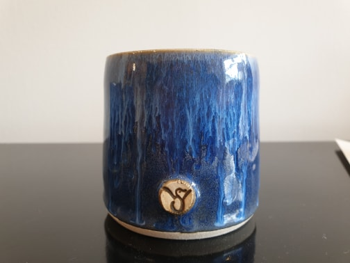 Whisky Cup Blue III