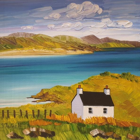 Cottage, Luskentyre Harris
