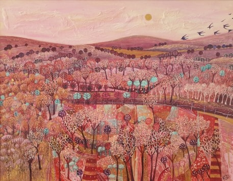 Autumnal Warriors, (After Blythe Scott)