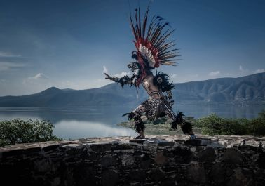 Aztec Dancer on Mezcala Island