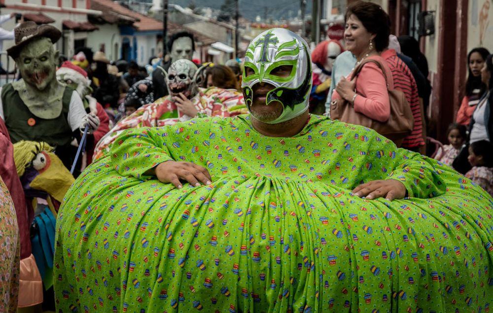 Los Panzones in the Fiesta de la Merced