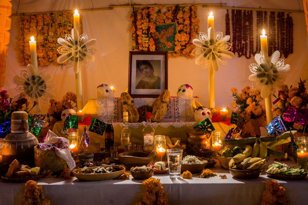 An altar for a woman in Ixtlahuacan de los Membrillos, Jalisco, Mexico