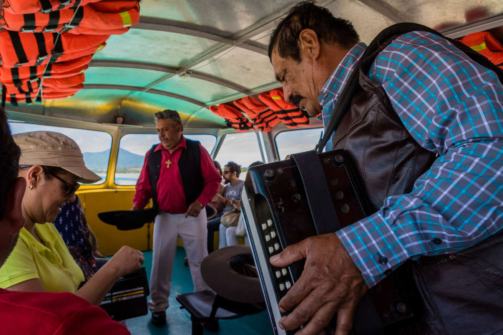 On the Boat to the Island of Janitzio, Michoacán