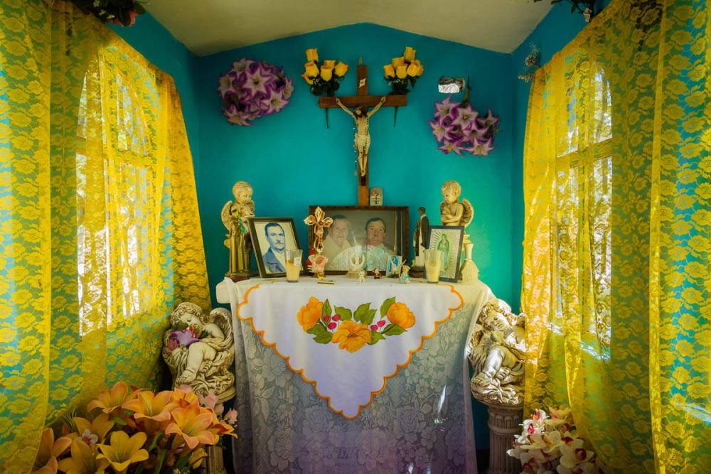 Morelia, Michoacán. Panteón del Cristo.