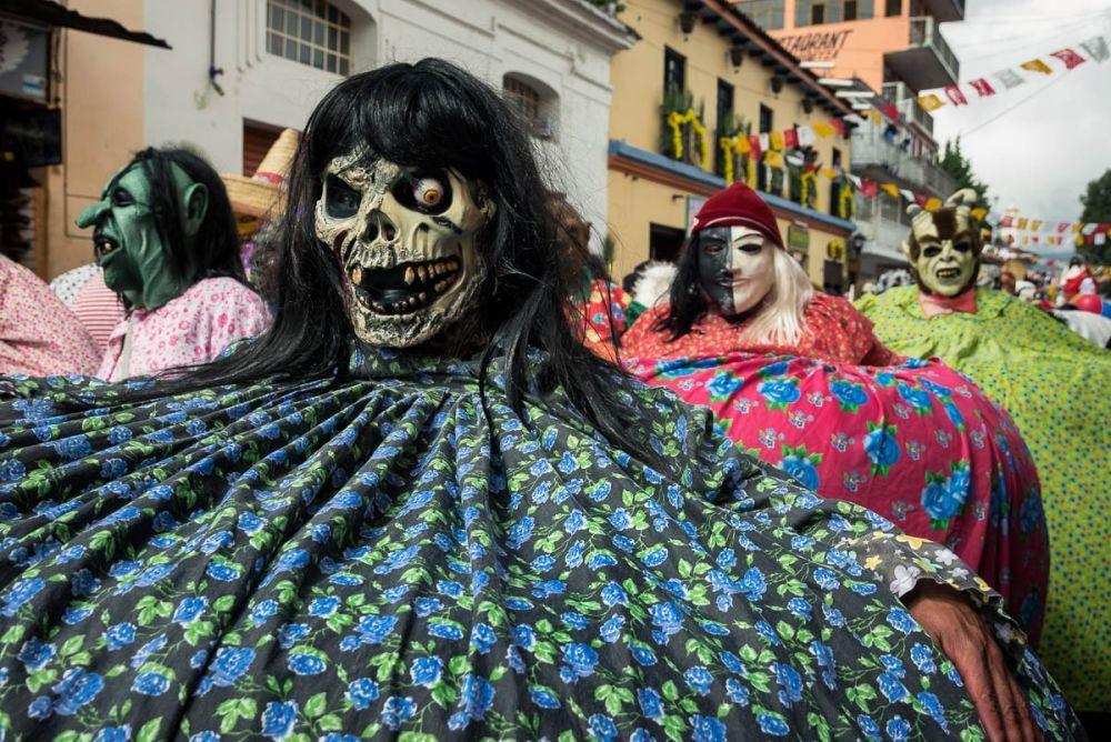 Fiesta de los Panzones in San Cristóbal de las Casas, Chiapas, Mexico