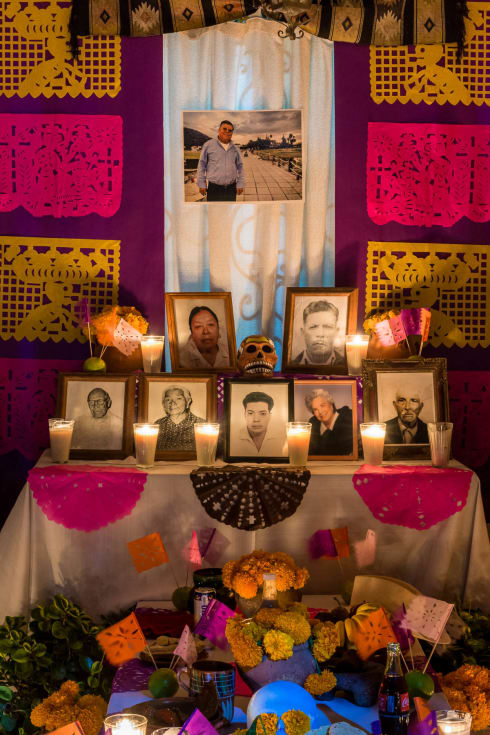 Day of the Dead Altar in Chapala, Jalisco.