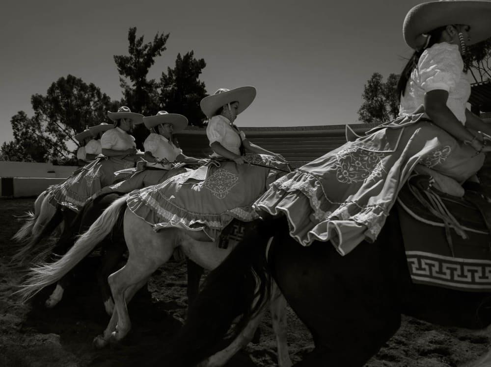 Escaramuza Charra Cowgirls