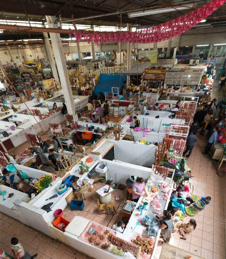 Mercado municipal in San Cristóbal de las Casas, Chiapas, Mexico