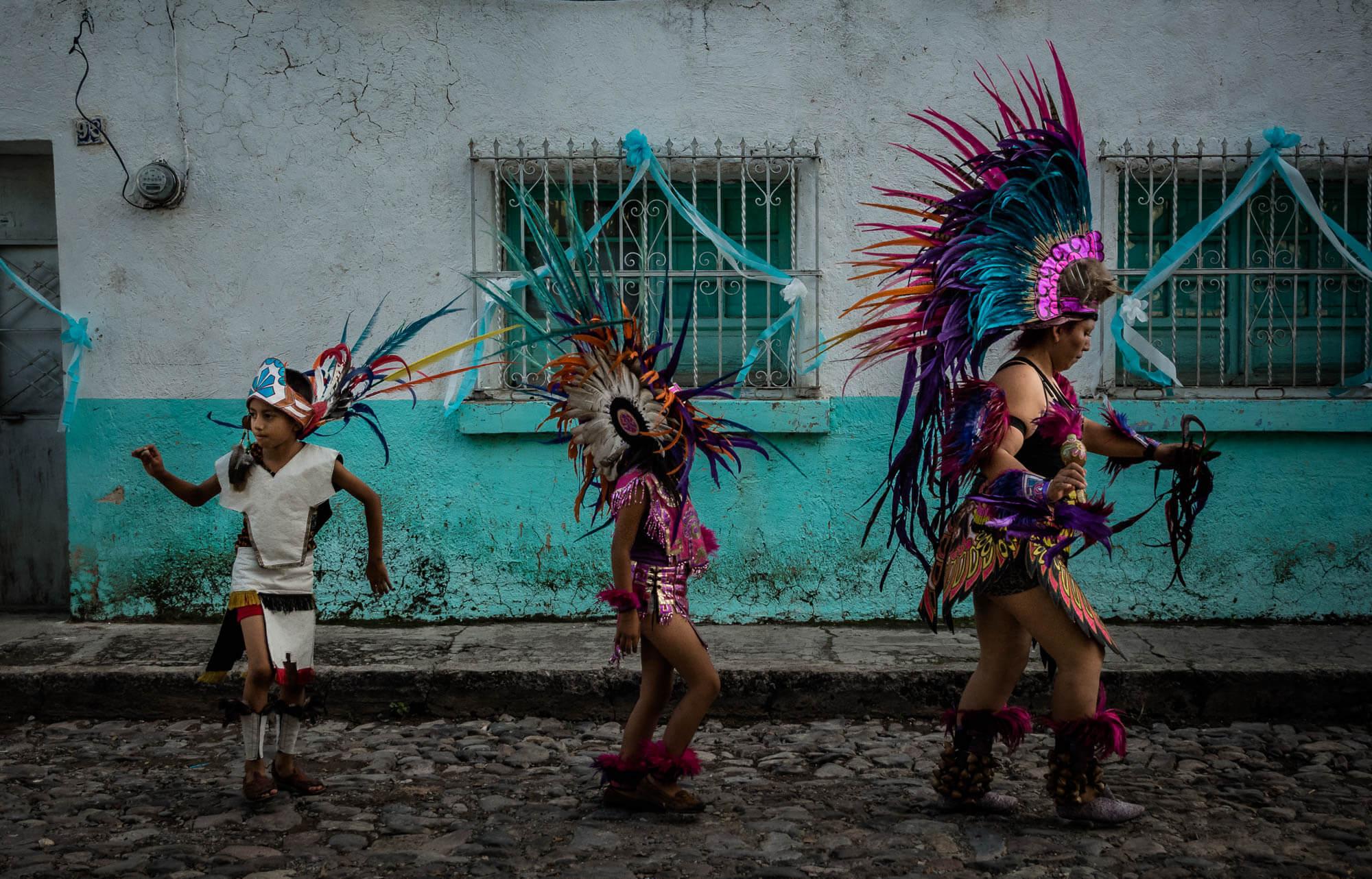 The Aztec Dancers