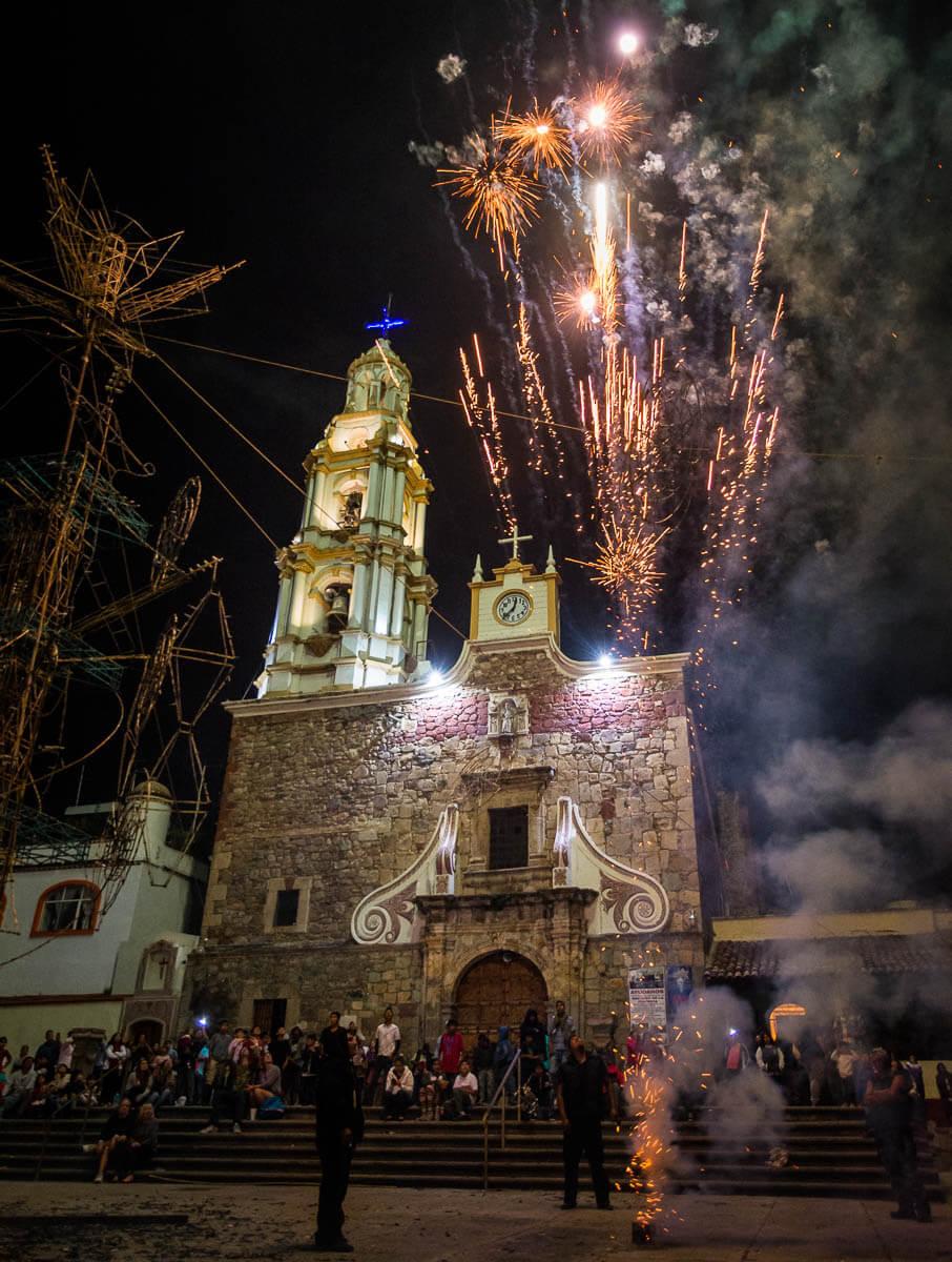 Mexican Fireworks Castillo