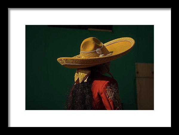 Escaramuza and sombrero fine art print