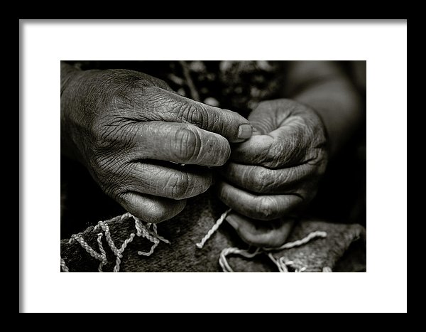 Zapotec Hands fine art black and white print
