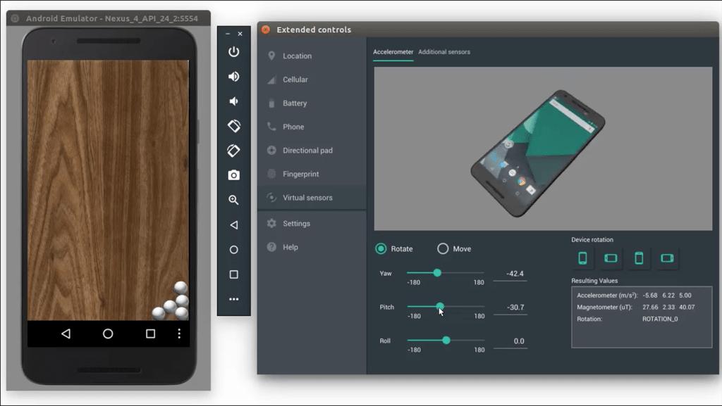Tính năng Android Emulator Snapshots