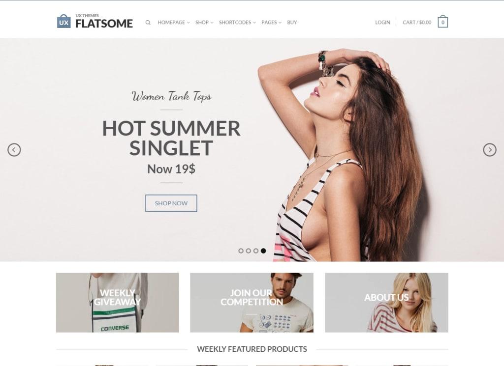 Flatsome theme bán hàng số 1 thế giới