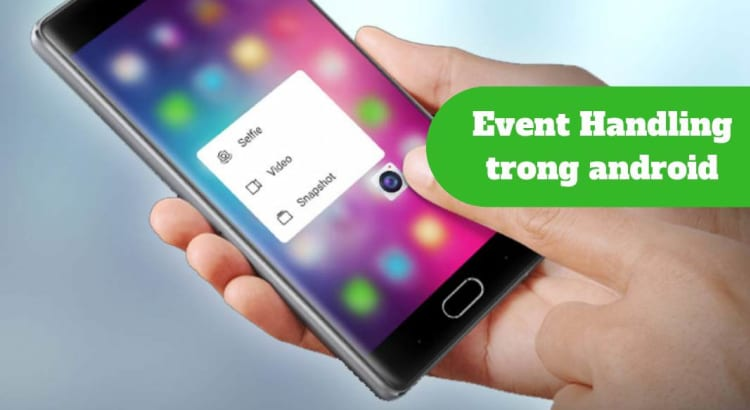 Event trong Android với Kotlin