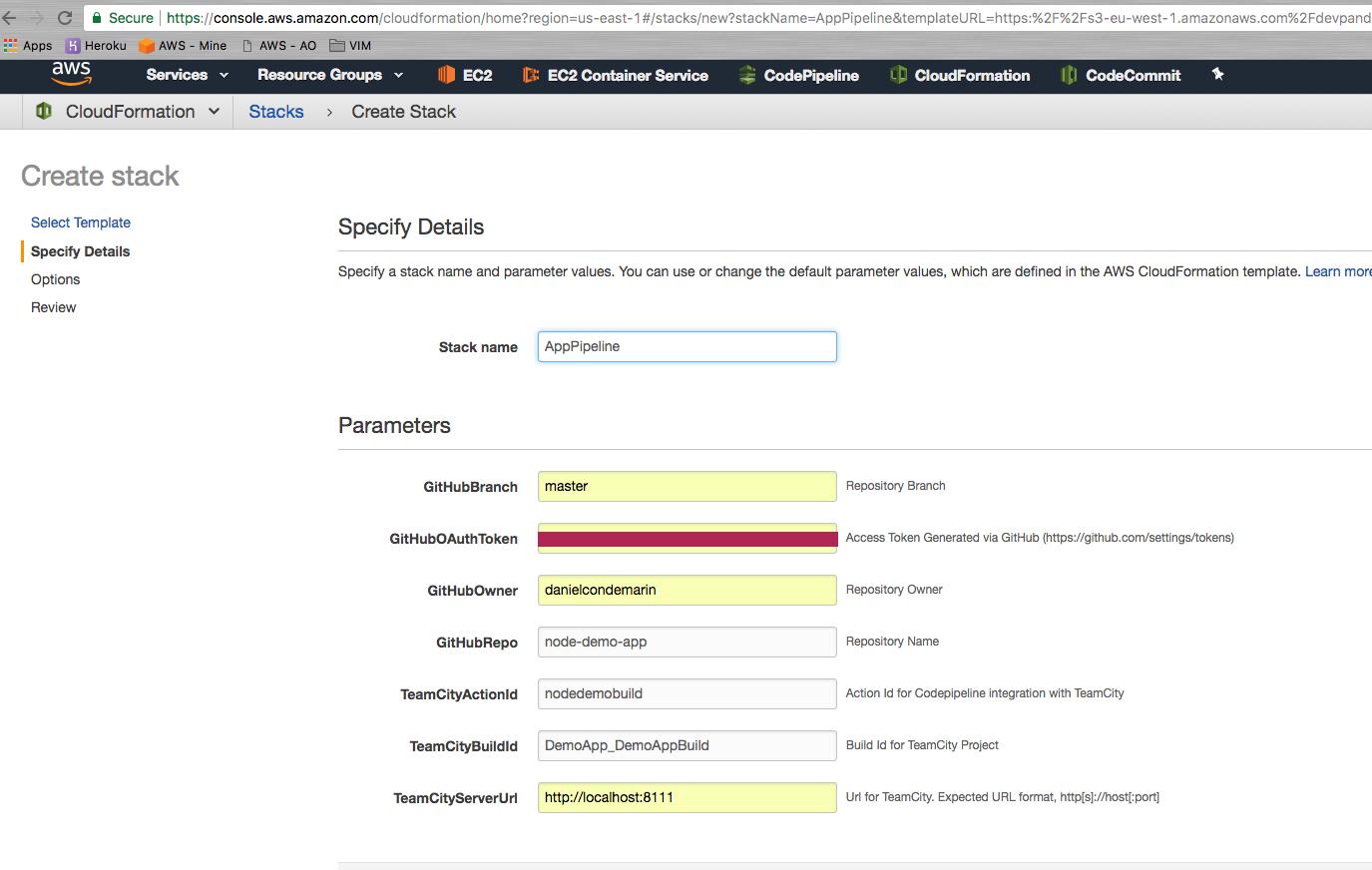 AWS CodePipeline - Integrating with TeamCity · d' dev panda