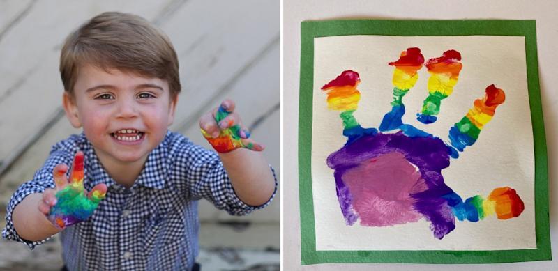 Кейт Миддлтон поделилась праздничными фото принца Луи