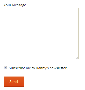 Add a MailChimp sign-up checkbox to Contact Form 7 - Danny van Kooten