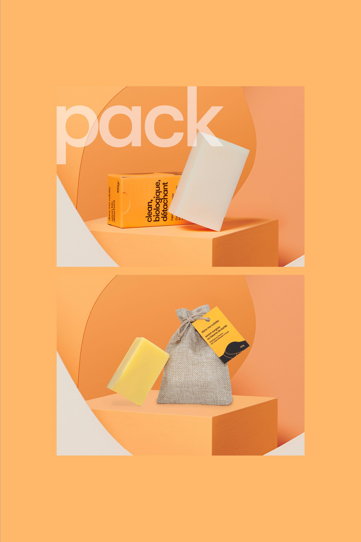 pack de savons surgras et détachant