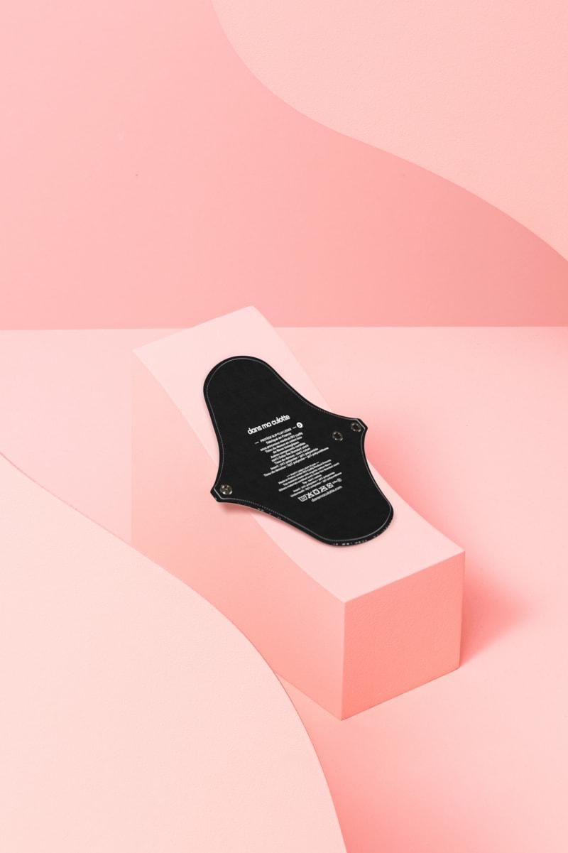 protège-slip lavable Fractale - semelle