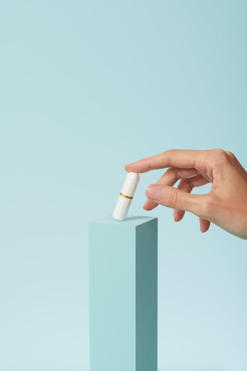 Tampons en coton bio pour flux léger