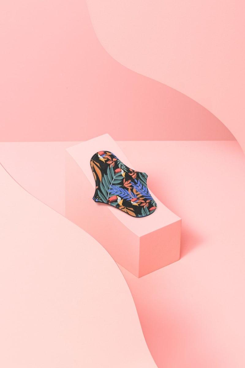 Photo du protège-slip pour flux léger Dans Ma Culotte motif toucan.