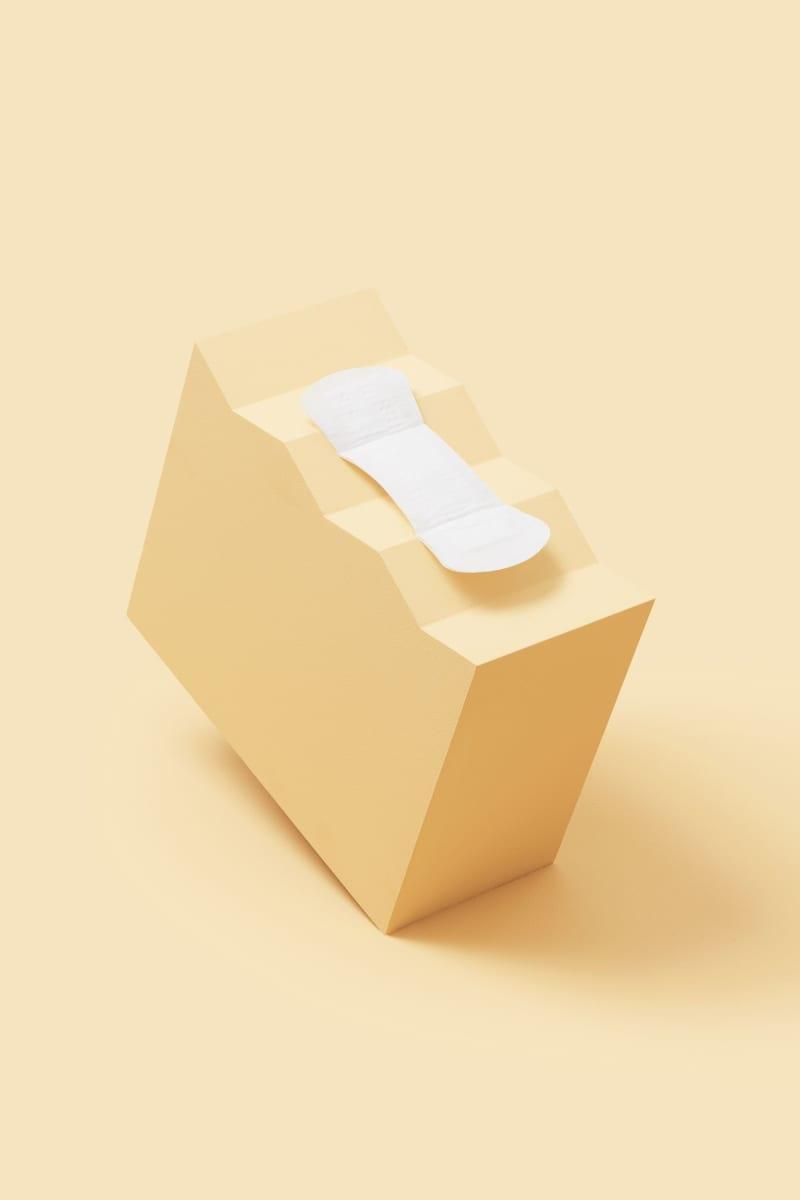 Protège-slip en coton bio certifié GOTS vendus par 24