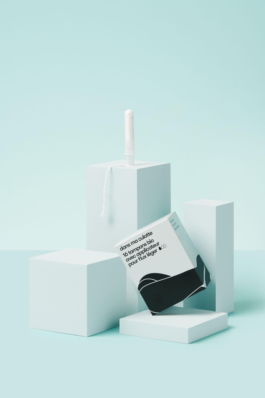 Tampons bio avec applicateur Dans Ma Culotte sans substances nocives pour la santé