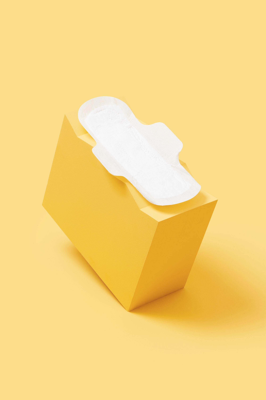 Serviette hygiénique en coton bio pour flux normal, douce pour votre peau.