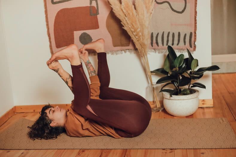 Photo de la position de yoga