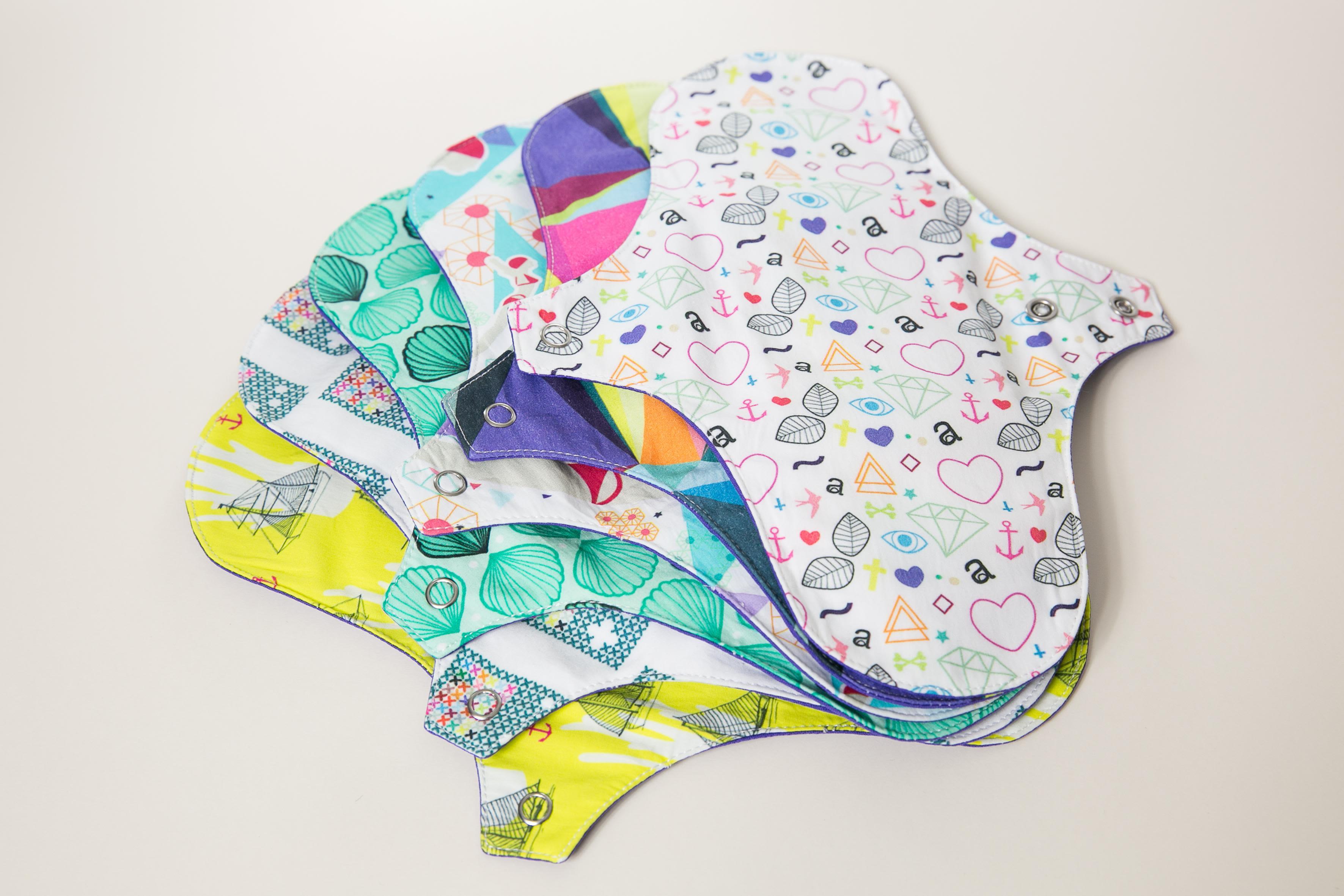 serviettes hygiéniques lavables Dans Ma Culotte