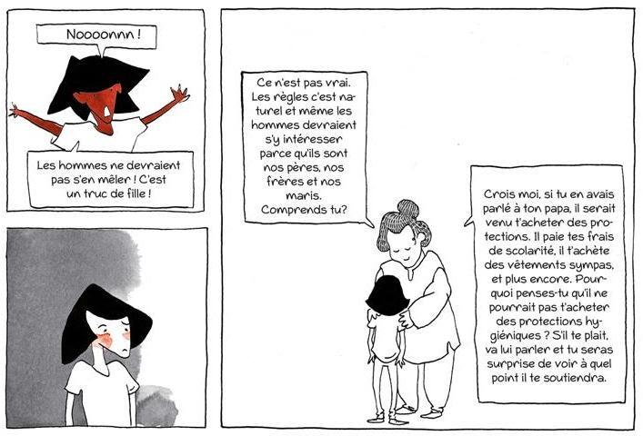 Visuel de bande dessinée