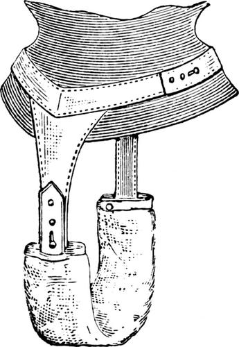 Une ceinture pour maintenir une serviette hygiénique