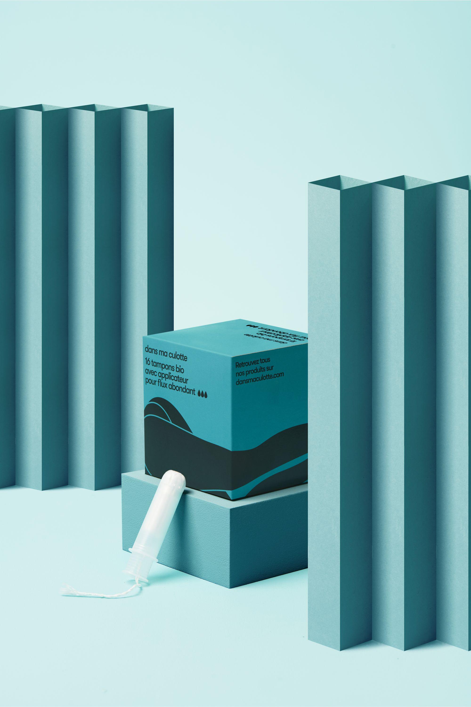 Pack de 16 tampons bio avec applicateur pour flux abondant