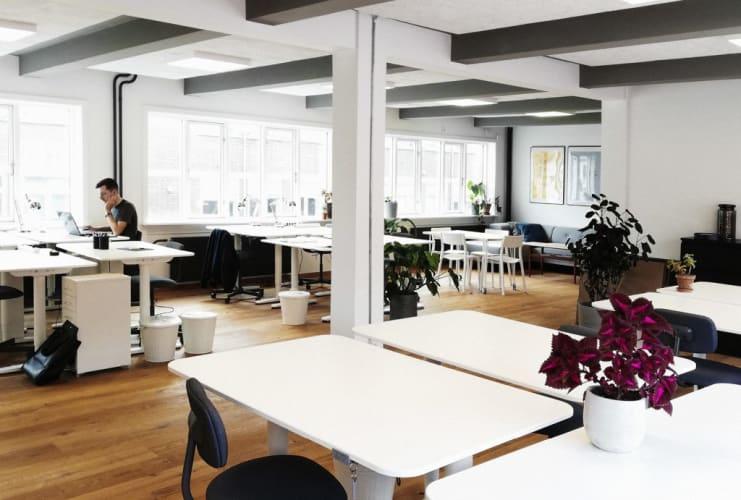 Fuldtids- og deltidspladser på nyrenoveret kontor i København N