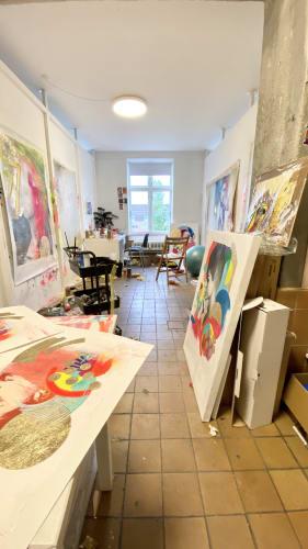 15m2 atelier/kontor i professionelt kreativt fællesskab