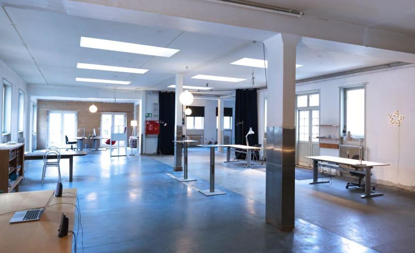 Ledige arbejdspladser i Kreativt fællesskab i Kbh NV