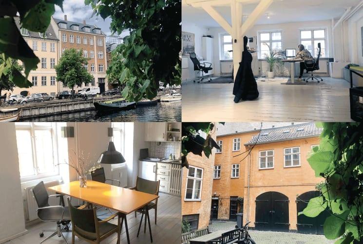 Bord og stol - Christianshavn