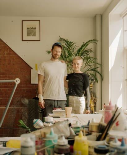 SØGER maler-og skulpturatelier!