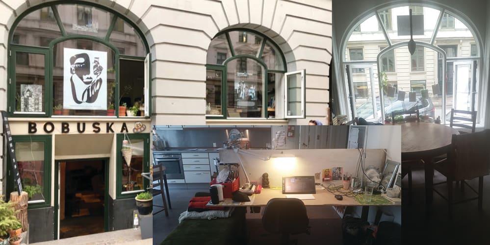 2 pladser lige ved Nørreport i kreativt miljø
