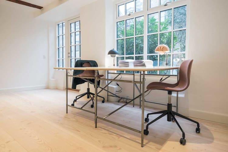 Skønt kontorfællesskab i baghus på Frederiksberg