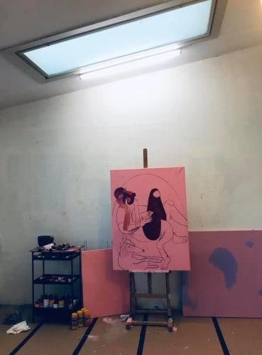 Jeg søger et værksted / atelier