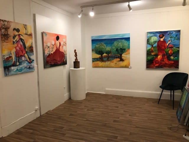 Skønt galleri i kbh. showroom, atelier, mulighed for små kurser