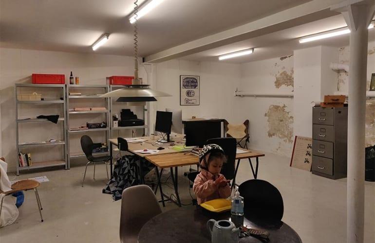 Atelier/kontor i indre by