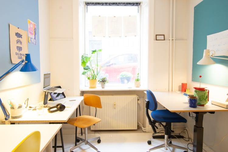 Kontorfællesskab på Indre Nørrebro
